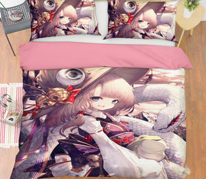3D Touhou Project 672 Anime Bed Pillowcases Duvet Cover Quilt Cover