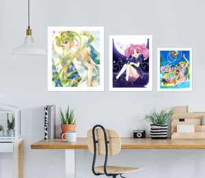 Sailor Moon A902 Anime Combine Wall Sticker
