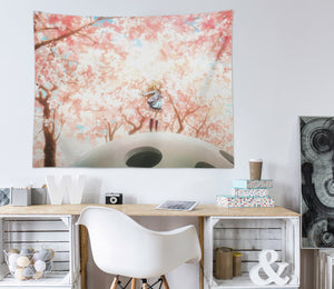 3D Your Lie In April 2385 Anime Tapestry Hanging Cloth Hang