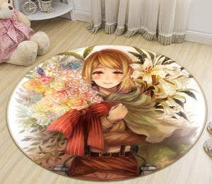 3D Attack On Titan 1720 Anime Non Slip Rug Mat