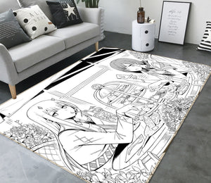 3D Darling In The Franx 1415 Anime Non Slip Rug Mat