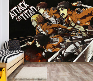3D Attack On Titan 446 Wallpaper