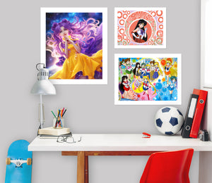 Sailor Moon A871 Anime Combine Wall Sticker
