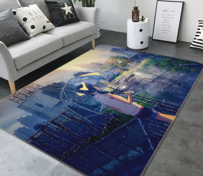 3D Weathering With You 1003 Anime Non Slip Rug Mat