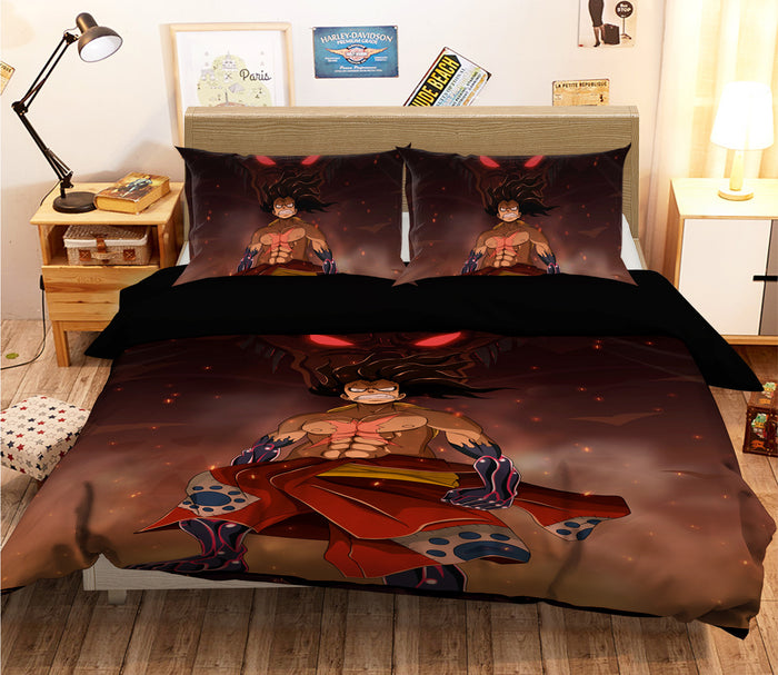 3D ONE PIECE 044 Anime Bed Pillowcases Duvet Cover Quilt Cover