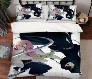 3D Kimetsu No Yaiba 2024 Anime Bed Pillowcases Duvet Cover Quilt Cover