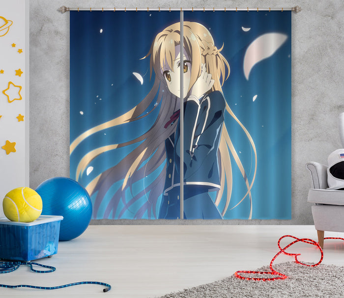 3D Sword Art Online 276 Anime Curtains Drapes