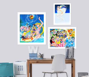 Sailor Moon A898 Anime Combine Wall Sticker