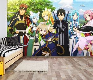 3D Sword Art Online 222 Wallpaper