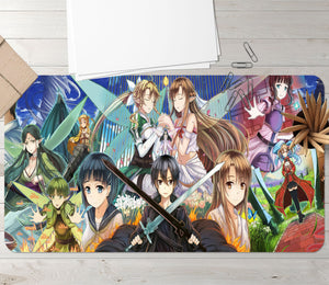 3D Sword Art Online 3719 Anime Desk Mat