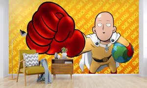 3D One Punch Man 257 Wallpaper
