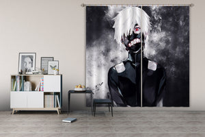 3D Tokyo Ghoul 046 Anime Curtains Drapes