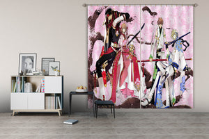 3D Tsubasa Reservoir Chronicle 168 Anime Curtains Drapes