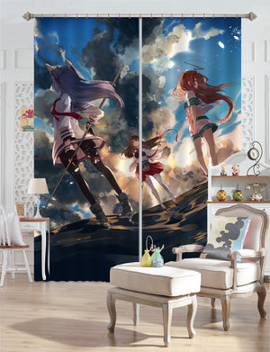 3D Fleet Girls Collection 227 Anime Curtains Drapes