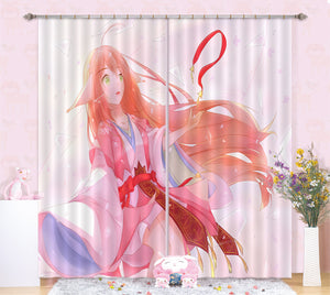 3D Fox Spirit Matchmaker 231 Anime Curtains Drapes