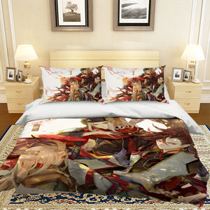 3D Handsome Man 119 Anime Bed Pillowcases Duvet Cover Quilt Cover