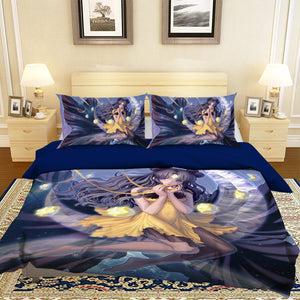 3D Sailor Moon 836 Anime Bed Pillowcases Duvet Cover Quilt Cover
