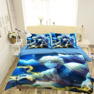 3D Kimetsu No Yaiba 1965 Anime Bed Pillowcases Duvet Cover Quilt Cover