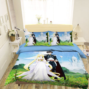 3D Sailor Moon 569 Anime Bed Pillowcases Duvet Cover Quilt Cover