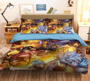 3D ONE PIECE 164 Anime Bed Pillowcases Duvet Cover Quilt Cover