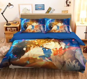 3D Your Name 218 Anime Bed Pillowcases Duvet Cover Quilt Cover