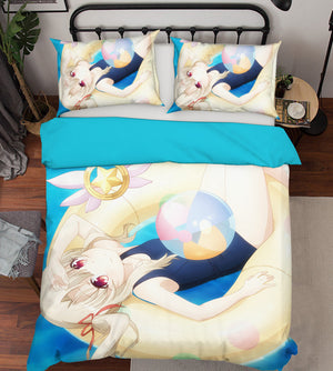 3D Fate Stay Night 398 Anime Bed Pillowcases Duvet Cover Quilt Cover