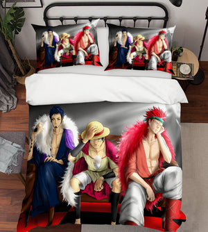 3D ONE PIECE 165 Anime Bed Pillowcases Duvet Cover Quilt Cover