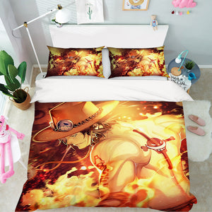 3D ONE PIECE 505 Anime Bed Pillowcases Duvet Cover Quilt Cover
