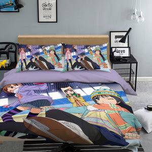 3D Toaru Majutsu No Index 078 Anime Bed Pillowcases Duvet Cover Quilt Cover