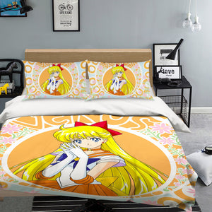 3D Sailor Moon 564 Anime Bed Pillowcases Duvet Cover Quilt Cover