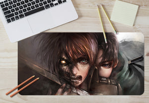 3D Attack On Titan 3798 Anime Desk Mat