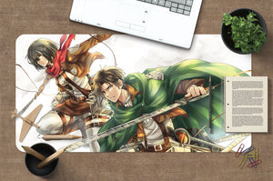 3D Attack On Titan 4006 Anime Desk Mat