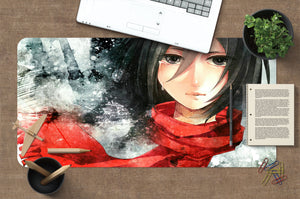 3D Attack On Titan 3788 Anime Desk Mat