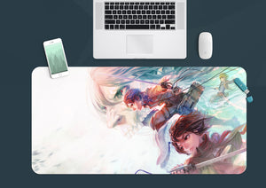 3D Attack On Titan 3772 Anime Desk Mat
