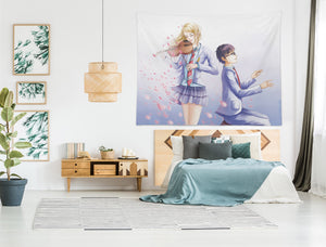 3D Your Lie In April 2379 Anime Tapestry Hanging Cloth Hang