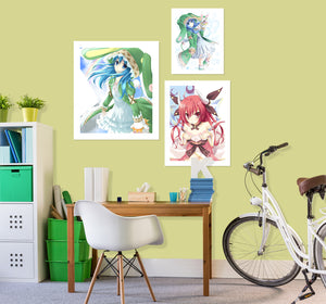 Date A Live A628 Anime Combine Wall Sticker