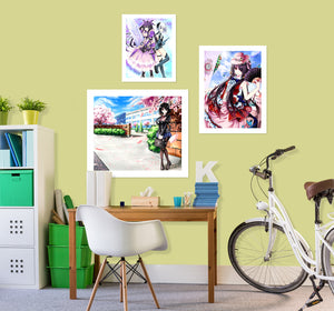 Date A Live A617 Anime Combine Wall Sticker