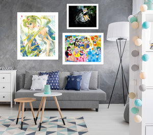 Sailor Moon A903 Anime Combine Wall Sticker