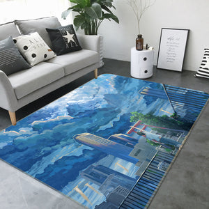 3D Weathering With You 1013 Anime Non Slip Rug Mat