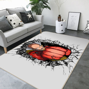 3D One Punch Man 1230 Anime Non Slip Rug Mat