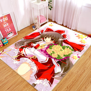 3D Girls Generation 1318 Anime Non Slip Rug Mat