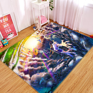 3D Weathering With You 1029 Anime Non Slip Rug Mat