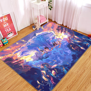 3D Weathering With You 1038 Anime Non Slip Rug Mat