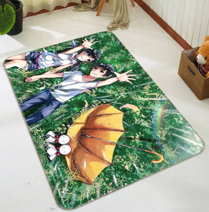 3D Weathering With You 1027 Anime Non Slip Rug Mat