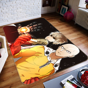 3D One Punch Man 1211 Anime Non Slip Rug Mat