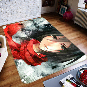 3D Attack On Titan 1620 Anime Non Slip Rug Mat