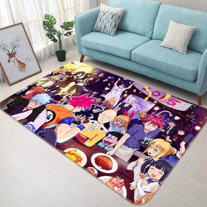 3D One Punch Man 1231 Anime Non Slip Rug Mat