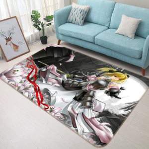 3D Fate Stay Night 1061 Anime Non Slip Rug Mat
