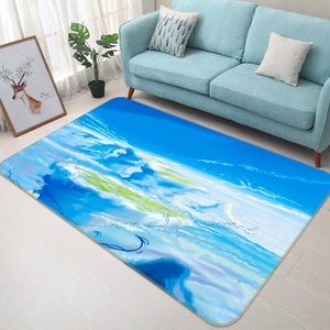 3D Weathering With You 1002 Anime Non Slip Rug Mat