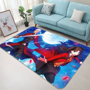 3D Fate Stay Night 1062 Anime Non Slip Rug Mat